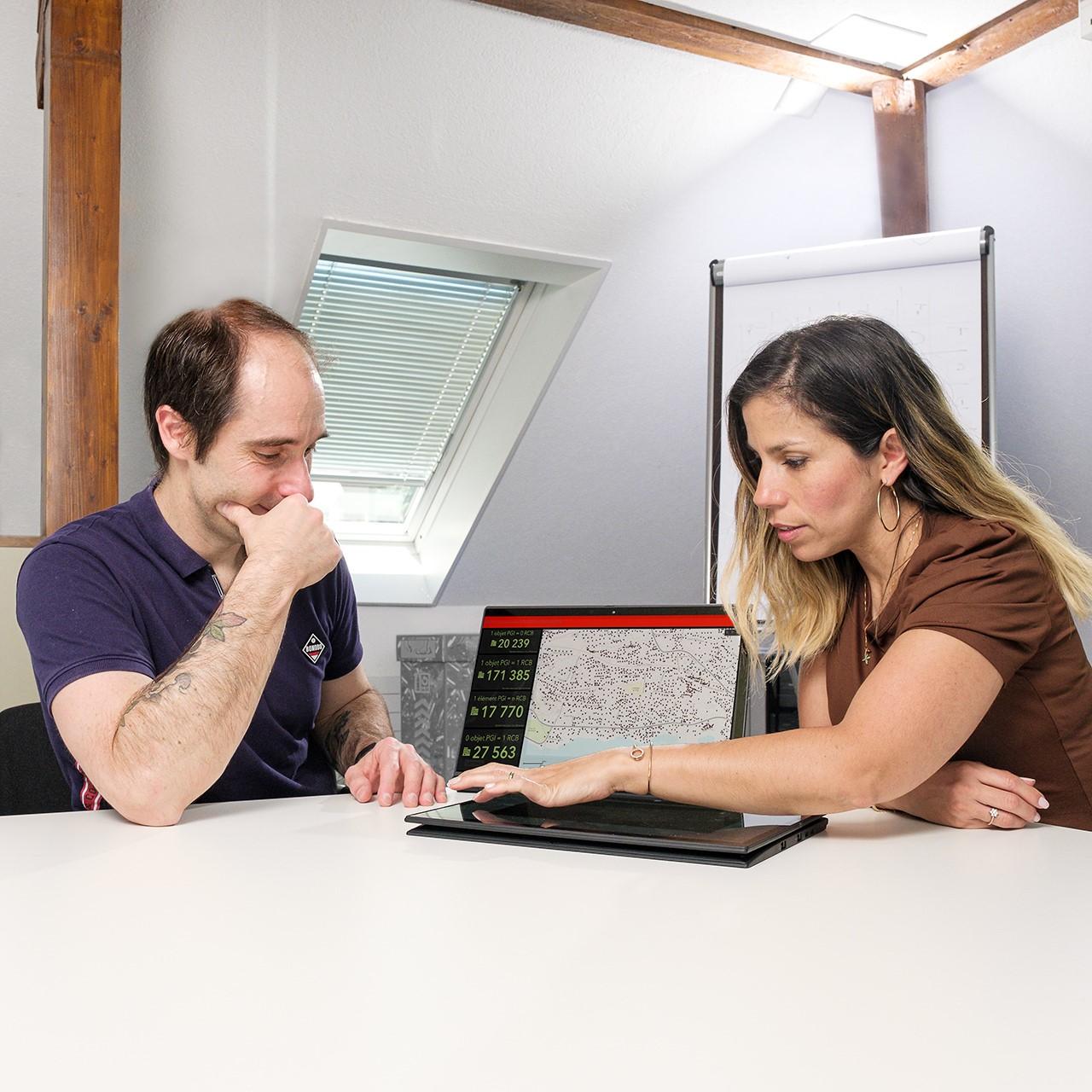 L'équipe travaillant sur le projet SIGECA (Système d'Information Géographique) a été renforcée.